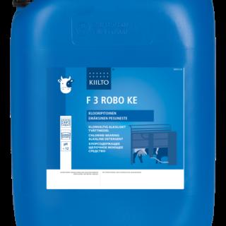 F 3 Robo KE (Klooripitoinen Emäksinen Pääpesuaine)